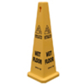 CAUTION WET FLOOR CONE 24