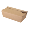 BROWN KRAFT FOOD BOX