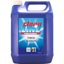 Cleanline thick bleach 4x5ltr