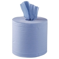 PRIME SOURCE 2PLY BLUE CENTERFEED ROLL