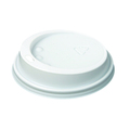 HSL85 12OZ DOME LID WHITE