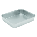 Smoothwall foil tray  218x126x60mm