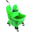 Bison bucket & wringer Green 24Ltr