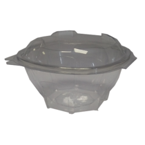 750ml DIAMOND HINGE LID CONTAINER