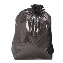 BLACK REFUSE BAG