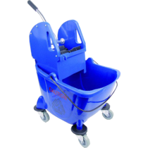 Bison bucket & wringer Blue 24Ltr