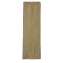 Large brown bottle bag 16x4