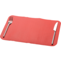 Placemats red 365x250mm