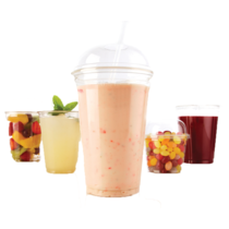 G2GO E16C CLEAR SMOOTHIE CUP 16OZ
