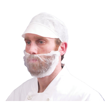 White BEARD MASKS x 100 (inner) #