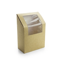 VW - KRAFT TORTILLA WRAP BOX